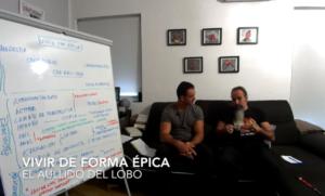 Vivir con Épica - Luis Utrilla | El Aullido del Lobo